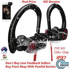 Wireless 4.1+edr Bluetooth Waterproof Sports Stereo Earphones Headphones Headset
