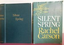 Silent Spring ~ Rachel Carson, 1962, BOMC, Hardcover w/Jacket, Illustrated