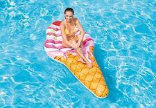 Materassino gelato Intex 58762 ice cream gonfiabile cavalcabile 224x107 cm Rotex