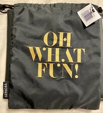 """Sephora""""Oh What Fun""""Drawstring Pouch New With Tag"""