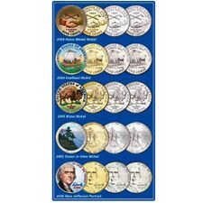 2004-2006 Ultimate Nickel Set Uncirculated Littleton Coin Co - ST2708 - 20 coins