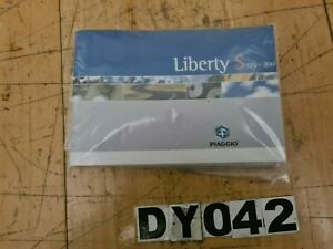 Owners Handbook / Manual Assembly- Piaggio Liberty 125 2007 #DY042