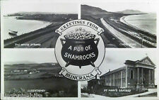 GREETINGS FROM BUNCRANA CO DONEGAL POSTCARD 1930's IRELAND