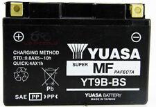 YUASA BATTERIA YT9B-BS YAMAHA MAJESTY 400 2004-05-06 tmax 500 01/09 originale