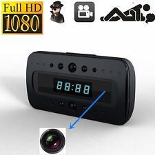 HD 1080P SPY Hidden Camera Clock Remote Night Vision Motion Detection Mini GS