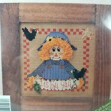Mill Hill MHCB131P Fall Y'all Scarecrow Beaded Cross Stitch Kit New in Package