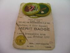Vintage Boy Scout Badges 1969 Home Repair