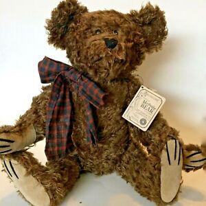 "Boyds Collectible JACKSON R BEARINGTON Mohair Bear #590023-05 MB 16"" Retired"