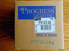 15 Progress Lighting P9123-28 Floating Canopy Mounts Anywhere On Track, Bright