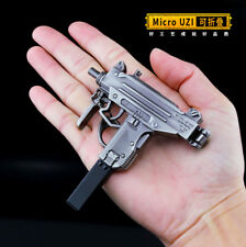 TOY 1/5 PUBG Mini Micro UZI 9mm SMG gun BattleField4 Battleground Metal 6inch