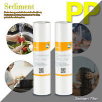 """PP Sediment Water Filter 5 Micron/1 Micron 10"""" x 2.5"""" Fit Whole House& RO System"""