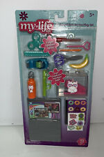 """My Life As School Supplies Accessories Snacks Play Set For 18"""" Doll"""