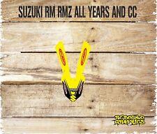 SUZUKI RM RMZ 65 85 125 250 450 FRONT MUDGUARD GRAPHIC-STICKER-DECALS-MOTOXX