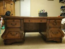 Office Desk W/ Drawers, Desktop space, file cabinet (see all pics 12 details)