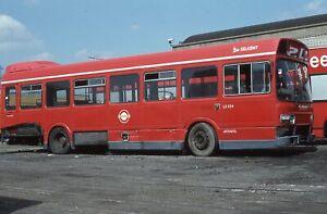 Original Colour slide, London Transport, Leyland National, THX254S