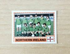 FIGURINE PANINI EUROPA 80 - FIGURINA N.223  SQUADRA - N. IRLANDA - NEW