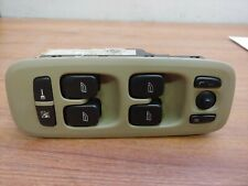 VOLVO S60 S80 V70 XC90 LEFT DRIVER SIDE MASTER WINDOW SWITCH 09193383 - Tan