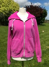 Converse All Star Pink Hooded Sweatshirt Jacket Size M New with Tags