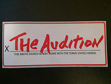 THE AUDITION sticker The Academy Is Cartel Spitalfield Cute Is What We Aim For