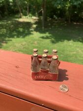"German Miniature 2 1/2"" Coke Coca-Coca Soda Bottles Advertising"