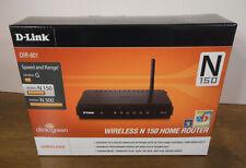 D-Link N150 Home 150 Mbps 4-Port 10/100 Wireless N Router (DIR-601)