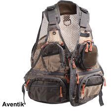 Aventik Super Light Mesh Fabric Fly Fishing Vest,Fishing Mesh Vest Wading Bag