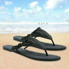 Luxtrada Beach leathe smooth sleek bikini side-tie  Leather Women Sandal Shoes