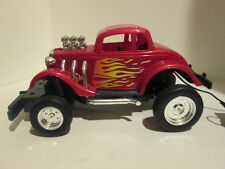 Vintage Scientific Toys  Red Roadster Coupe Remote Control Car - Corded