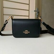 Coach Small Messenger Crossbody Bag Black F77979