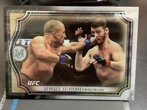 Topps UFC Museum Collection Georges St Pierre GSP