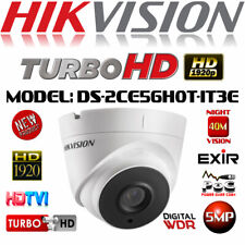 Hikvision 5mp Grey Camera CCTV Turret POC TVI HD 40m EXIR Night Ip67 Coaxial