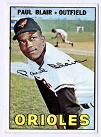 1967 Topps #319 Paul Blair Baltimore Orioles Card