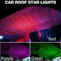 Car Atmosphere Lamp Interior Ambient Star Light LED USB Projector Starry Sky UK~