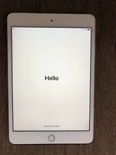 Apple iPad mini 4 128GB, Wi-Fi + Cellular (Unlocked), 7.9in - Silver
