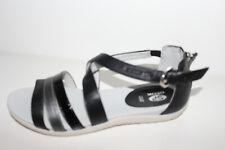 Geox Sandalette schwarz/silber Gr. 37 NEU (99)