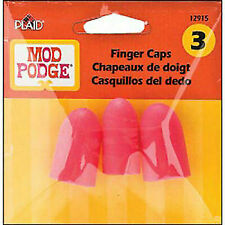 Plaid Pla12958 Mod Podge Hot Glue Finger Caps 3pc