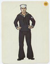1966 Peabody Language Card #0-31 Sailor