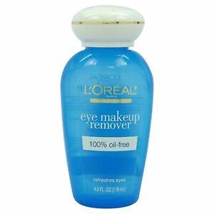 L'Oreal Eye Makeup Remover 100% Oil Free 4.0 Fl. Oz.