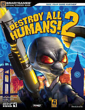 USED (GD) Destroy All Humans! 2 Official Strategy Guide (Official Strategy Guide