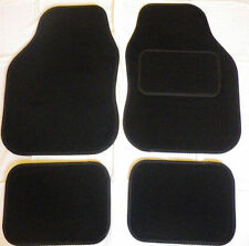 Car Mats Black trim car mats for FORD FIESTA FOCUS MONDEO KA KUGA