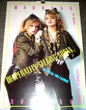 MADONNA CALENDAR 1986 'DESPERATELY SEEKING SUSAN'  unused