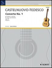 Concerto No. 1 in D Major Op. 99 Sheet Music Guitar and Piano NEW Scho 049010728