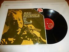 RED NICHOLS - Red Nichols And His Five Pennies - 1963 UK 12-track compilation LP