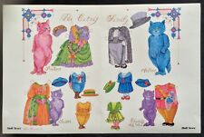 The Catnip Family Mag. Paper Doll, by Jim Faraone, 1991