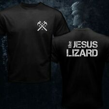 The Jesus Lizard Logo Shirt Noise Punk Alternative Rock Music Black Men T-Shirt