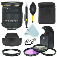 Sigma 17-50mm f/2.8 EX DC OS HSM Zoom Lens for Nikon+ Filter Kit + Accessor