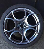 Alfa Romeo Rims Genuine 8C Kit Genuine Wheels Rims Velgen Jantes Cerchi 20