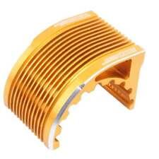 Aluminum Heat Sink Gold Fit RC 1/8 Hobbywing Castle leopard Motor 4274 4268 1515