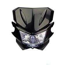 White Universal Street fighter Headlight Headlamp for Yamaha TT225 TT250 TT350