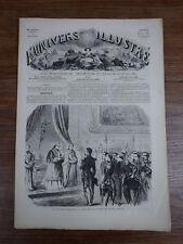 L'UNIVERS ILLUSTRE 1860 Nr 89 PAPE MAHARADJAH JEYPOOR MARIE ANTOINETTE ACCUSATIO